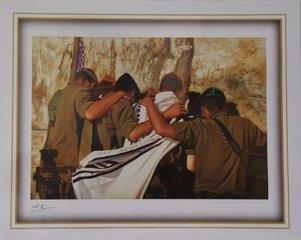 Kleine reproducties van Joodse taferelen en zegeningen