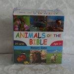 Memory spel dieren uit de Bijbel
