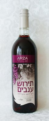 Druivensap (Kosher) uit Israel