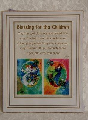 Reproductie: Blessing for the children / zegening voor de kinderen