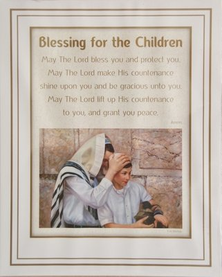 Reproductie: Blessing for the children.