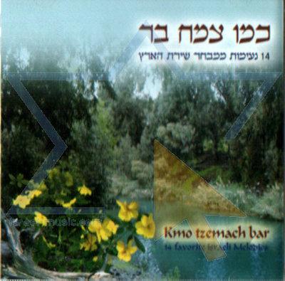 Instrumentale CD met Israelische muziek op diverse instrumenten gespeeld