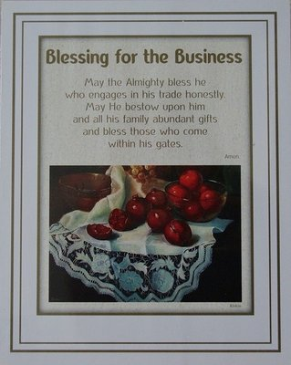 Reproductie: Blessing for the Business