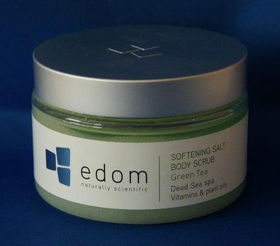 Edom Dode Zee body scrub groene thee