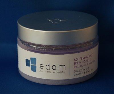 Edom Dode Zee body scrub lavendel.