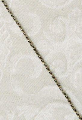 Zilveren Ketting de luxe met antieklook, zowel geschikt voor dames als heren voor de wat grotere hangers