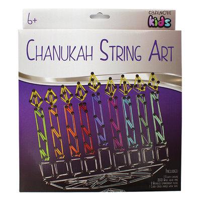 Werkje voor Chanukah: Maak je eigen Chanoekia met dit fleurige knutselpakketje