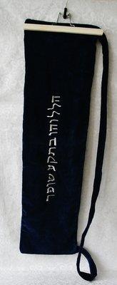 Tas voor Jemenitische Shofar met Hebreeuwse tekst geborduurd van Yair Emanuel keus uit verschillende maten