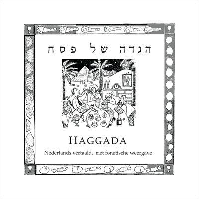 Haggadah voor Pesach, traditionele Joodse Haggada van het NIK met Hebreeuws, fonetisch Hebreeuws en Nederlandse vertaling