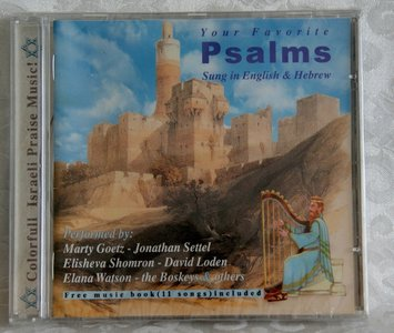 CD Your favorite Psalms.