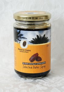 Dadel Honing van de Kinneret Farm in Israel pot van 350 gram