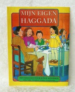 Mijn eigen Haggada, een boekje met duidelijke uitleg over de Sedermaaltijd en de uittocht uit Egypte voor jonge kinderen vanaf 4/5 jaar