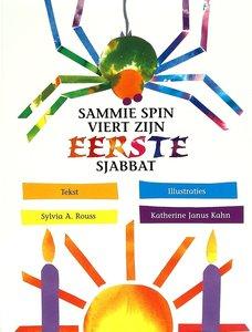 Sammie Spin viert zijn eerste Sjabbat, boekje om voor te lezen of zelf te lezen met uitleg over de Sjabbat A4 formaat