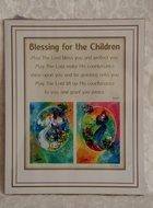 Reproductie: Blessing for the children / zegening voor de kinderen, meisjes