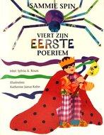 Sammie Spin viert zijn eerste Poeriem, boekje om voor te lezen of zelf te lezen met uitleg over een reis naar Israel A4 formaat