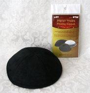 Tweezijdige plakstripjes om keppeltjes op hun plaats te houden op een kale hoofdhuid of zeer weinig haar