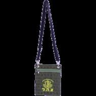 Schoudertasje / Reistasje met het embleem van de IDF, het Israelische leger