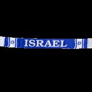 Israel support sjaal gemaakt van polyester (vlaggenstof) 14 x 130 cm