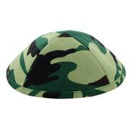Keppeltje / Kippah van leger camouflagestof