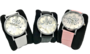 Mooi zilverkleurig Horloge met Hebreeuwse cijfertekens en de Hebreeuwse tekst Shema Yisrael... (Hoor Israel...), zowel geschikt